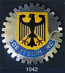German Car Grille Badges