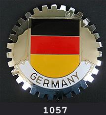 CAR GRILLE CHROME EMBLEM BADGE HAMBURG GERMANY